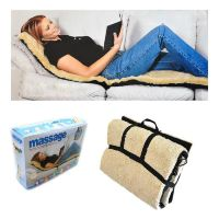Массажный матрас с мехом из искусственной овчины Faux Sheepskin Massage Mat