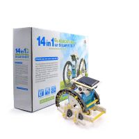 Робот конструктор Solar Robot kit 14 in 1 (на солнечной батарее)