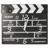 "Часы ""Кинохлопушка"" Movie set clock"