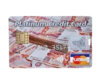 "Флешка-кредитка ""Platinum Credit Card RUB"" 4 Гб"