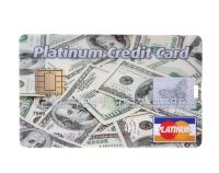 "Флешка-кредитка ""Platinum Credit Card USD"" 4 Гб"