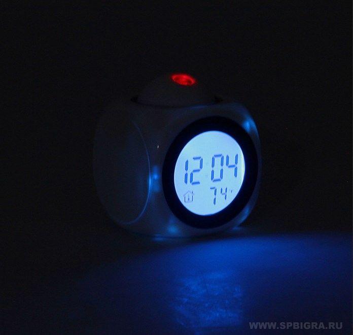 """Часы-будильник """"С проекцией времени"""" - 3"""